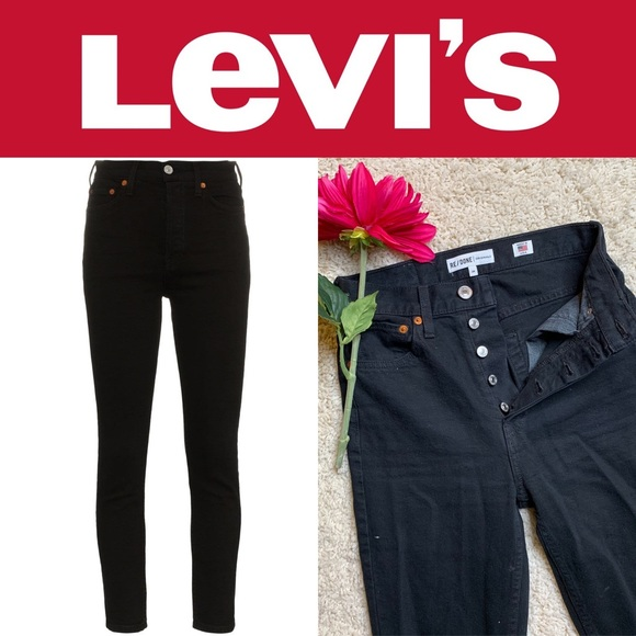 Levi's Denim - RE/DONE Levi's 501 Ultra High Rise Skinny Jean